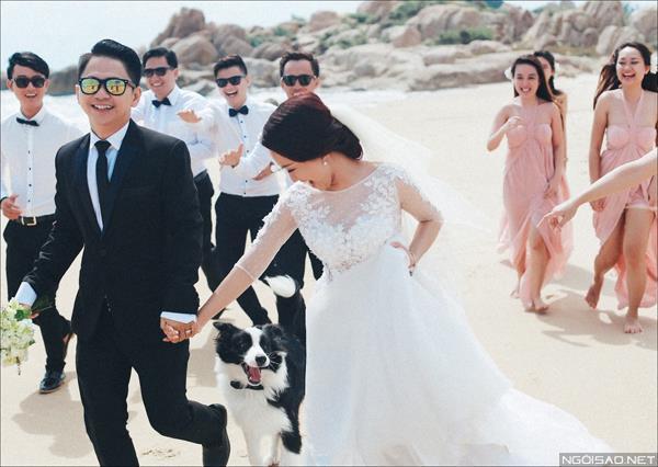 Ảnh cưới ở biển Bình Thuận - Cô dâu chú rể thật vui vẻ và tươi tắn (11) tại Cưới hỏi trọn gói 365