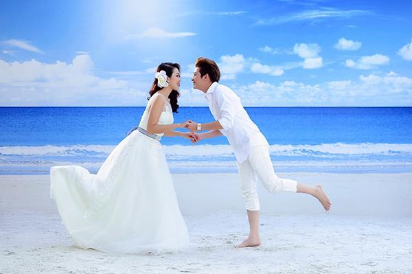 Ảnh cưới tại phim trường miền tây tuyệt đẹp với hoa ngập tràn (11) tại Cưới hỏi trọn gói 365