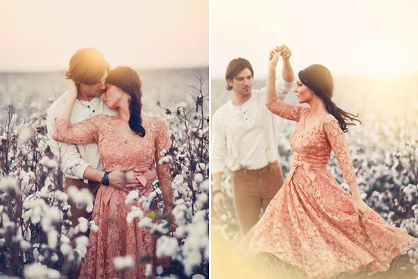Ảnh cưới trên đồng cỏ hoa cải vàng ngập tràn (02) tại Cưới hỏi trọn gói 365