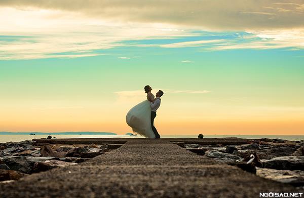 Biển xanh và tình yêu của anh và em (3) tại Cưới hỏi trọn gói 365