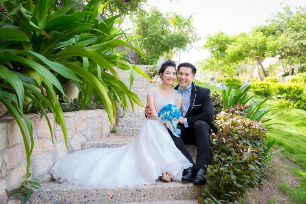 Cô dâu đẹp như thiên thần khi chọn gam màu tím và xanh biển ngọt lịm bên nụ cười hạnh phúc (19) tại Cưới hỏi trọn gói 365