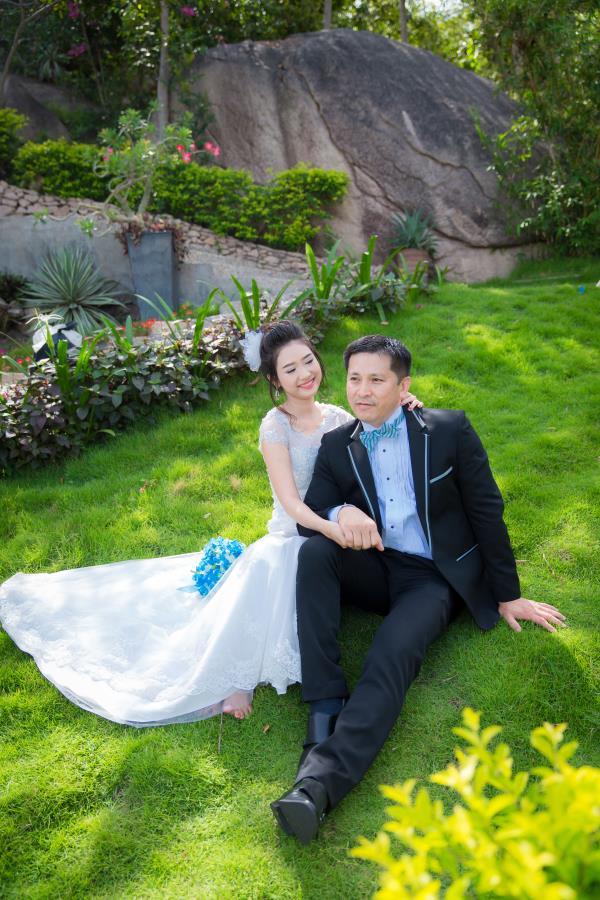 Cô dâu đẹp như thiên thần khi chọn gam màu tím và xanh biển ngọt lịm bên nụ cười hạnh phúc (20) tại Cưới hỏi trọn gói 365