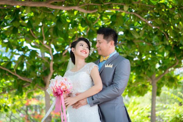 Cô dâu đẹp như thiên thần khi chọn gam màu tím và xanh biển ngọt lịm bên nụ cười hạnh phúc (21) tại Cưới hỏi trọn gói 365