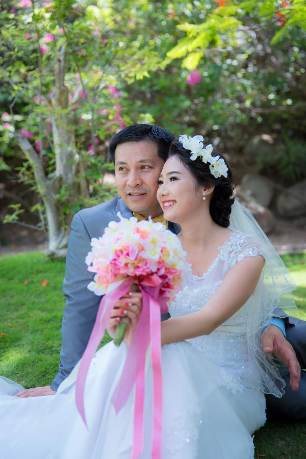 Cô dâu đẹp như thiên thần khi chọn gam màu tím và xanh biển ngọt lịm bên nụ cười hạnh phúc (24) tại Cưới hỏi trọn gói 365
