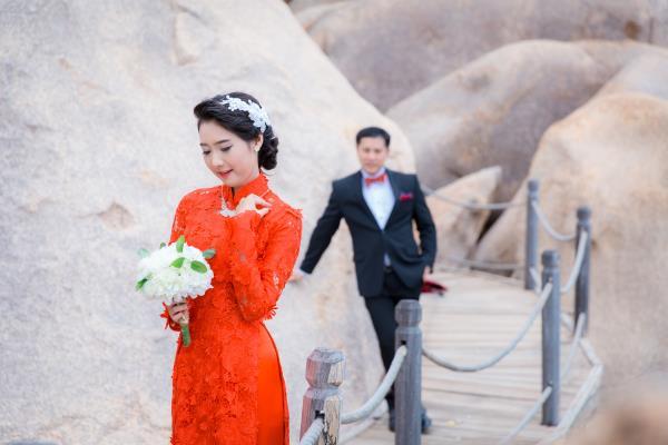 Cô dâu đẹp như thiên thần khi chọn gam màu tím và xanh biển ngọt lịm bên nụ cười hạnh phúc (25) tại Cưới hỏi trọn gói 365