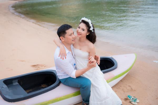 Cô dâu đẹp như thiên thần khi chọn gam màu tím và xanh biển ngọt lịm bên nụ cười hạnh phúc (27) tại Cưới hỏi trọn gói 365
