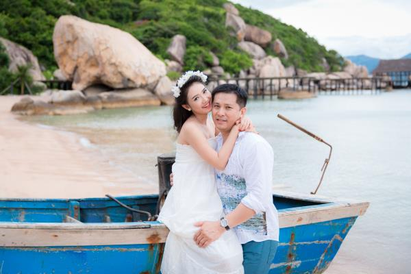 Cô dâu đẹp như thiên thần khi chọn gam màu tím và xanh biển ngọt lịm bên nụ cười hạnh phúc (28) tại Cưới hỏi trọn gói 365