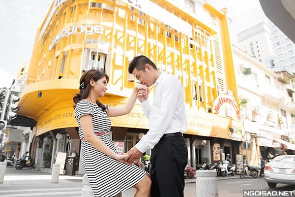 Cô dâu thật tươi và đẹp rạng rỡ khi chụp ảnh cưới ở Sài Gòn (03) tại Cưới hỏi trọn gói 365