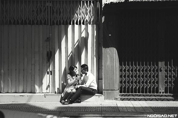 Cô dâu thật tươi và đẹp rạng rỡ khi chụp ảnh cưới ở Sài Gòn (04) tại Cưới hỏi trọn gói 365