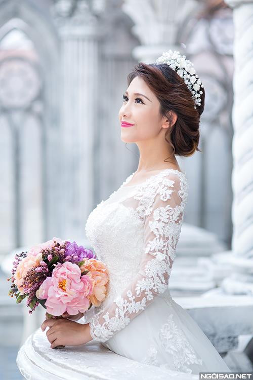 Cô dâu thật tươi và đẹp rạng rỡ khi chụp ảnh cưới ở Sài Gòn (07) tại Cưới hỏi trọn gói 365