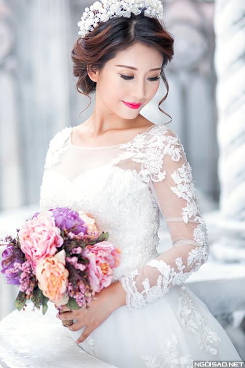 Cô dâu thật tươi và đẹp rạng rỡ khi chụp ảnh cưới ở Sài Gòn (08) tại Cưới hỏi trọn gói 365