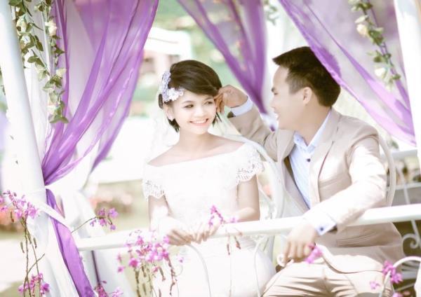 Cô dâu tóc ngắn dễ thương đáng yêu nhận hạnh phúc ngọt ngào bên chú rể điểm trai (07) tại Cưới hỏi trọn gói 365