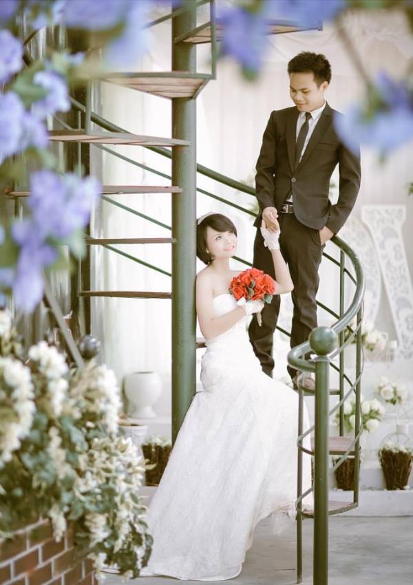 Cô dâu tóc ngắn dễ thương đáng yêu nhận hạnh phúc ngọt ngào bên chú rể điểm trai (08) tại Cưới hỏi trọn gói 365