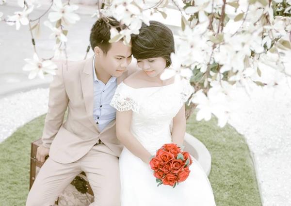 Cô dâu tóc ngắn dễ thương đáng yêu nhận hạnh phúc ngọt ngào bên chú rể điểm trai (14) tại Cưới hỏi trọn gói 365