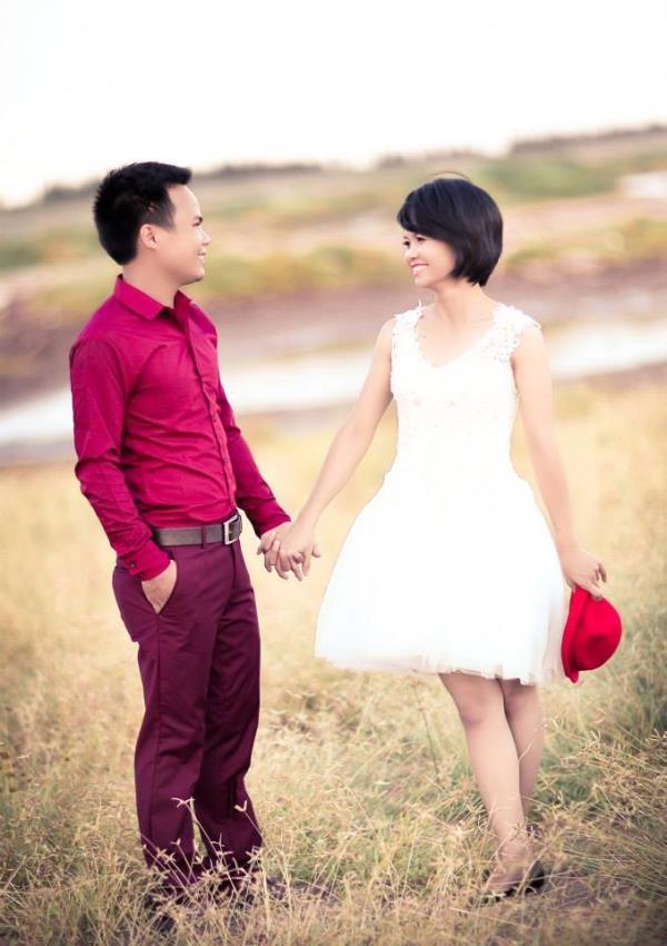 Cô dâu tóc ngắn dễ thương đáng yêu nhận hạnh phúc ngọt ngào bên chú rể điểm trai (18) tại Cưới hỏi trọn gói 365