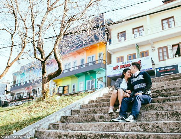 Đà lạt mùa đông càng thêm ấm nồng với tình yêu nồng nàn của cặp đôi trẻ trung (13) tại Cưới hỏi trọn gói 365