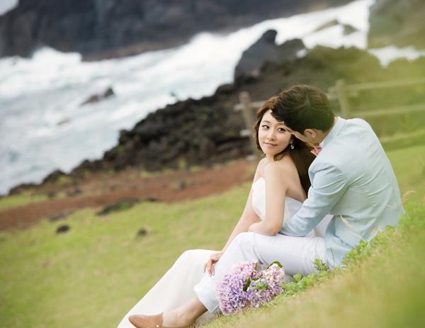 Uyên ương chụp ảnh cưới lãng mạn ở đảo Jeju (01) tại Cưới hỏi trọn gói 365