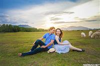 Trào lưu chụp ảnh cưới độc lạ cùng đàn cừu :