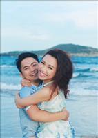 Ảnh cưới sinh động và vui vẻ ở biển Bình Thuận :