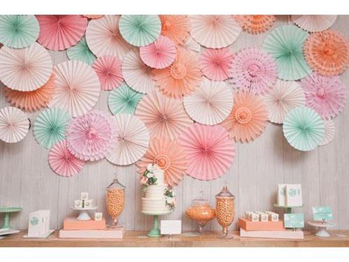 Trang trí đám cưới tuyệt đẹp bằng hoa giấy : Tin cưới hỏi trọn gói 365 của công ty shop dịch vụ trang trí nhà tiệc ngày đám cưới lễ gia tiên ăn hỏi