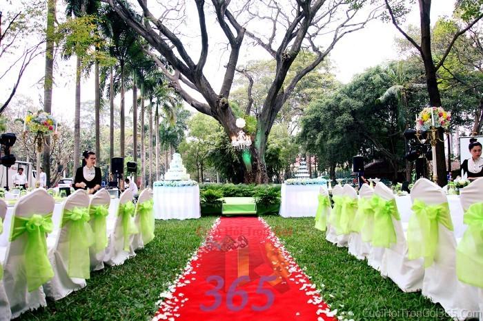Báo giá dịch vụ trang trí đám cưới tại nhà trọn gói