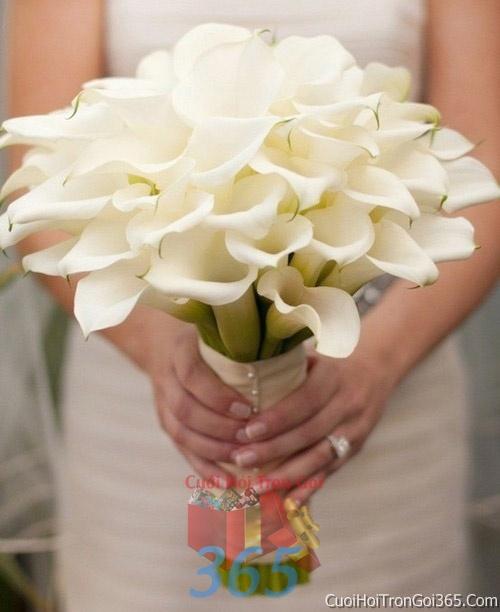 Hoa cầm tay cô dâu tông màu trắng kết đẹp, dễ thương cho ngày lễ ăn hỏi, tiệc đám cưới HC28 : Mẫu cưới hỏi trọn gói 365 của công ty dịch vụ trang trí nhà tiệc cưới hỏi đẹp rẻ uy tín ở tại quận Tân Phú Sài Gòn TPHCM Gò Vấp