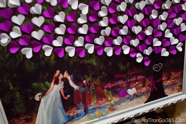 Phông cưới backdrop chụp hình đám cưới ngày lễ ăn hỏi làm bằng hình chụp ghép dễ thươngBDNH32 : Mẫu cưới hỏi trọn gói 365 của công ty dịch vụ trang trí nhà tiệc cưới hỏi đẹp rẻ uy tín ở tại quận Tân Phú Sài Gòn TPHCM Gò Vấp