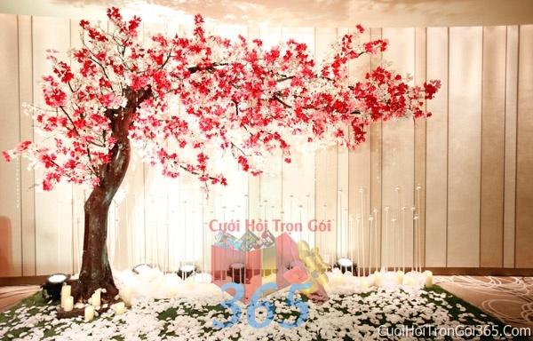 Phông cưới backdrop chụp hình đám cưới ngày lễ ăn hỏi làm bằng hoa giấy tông trắng hồng BDNH02 : Mẫu cưới hỏi trọn gói 365 của công ty dịch vụ trang trí nhà tiệc cưới hỏi đẹp rẻ uy tín ở tại quận Tân Phú Sài Gòn TPHCM Gò Vấp