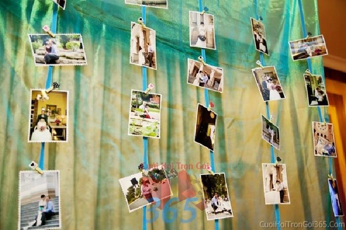 Phụ kiện đám cưới màn hình treo xinh lung linh dùng để trang trí bàn ký tên đón khách, không gian tiệc cưới nhà PKC69 : Mẫu cưới hỏi trọn gói 365 của công ty dịch vụ trang trí nhà tiệc cưới hỏi đẹp rẻ uy tín ở tại quận Tân Phú Sài Gòn TPHCM Gò Vấp