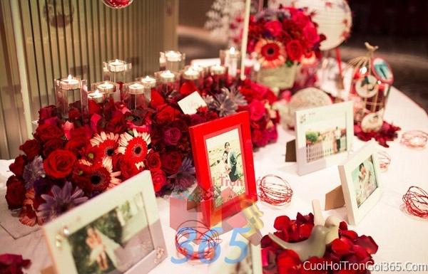 Phụ kiện khung hình cưới trang trí đám cưới, không gian tiệc nhà hàng sang trọng ấn tượng PKC13 : Mẫu cưới hỏi trọn gói 365 của công ty dịch vụ trang trí nhà tiệc cưới hỏi đẹp rẻ uy tín ở tại quận Tân Phú Sài Gòn TPHCM Gò Vấp