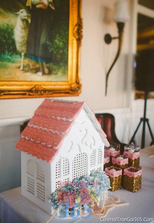 Phụ kiện thùng đựng tiền mừng trang trí đám cưới, không gian tiệc nhà hàng sang trọng ấn tượng PKC21 : Mẫu cưới hỏi trọn gói 365 của công ty dịch vụ trang trí nhà tiệc cưới hỏi đẹp rẻ uy tín ở tại quận Tân Phú Sài Gòn TPHCM Gò Vấp