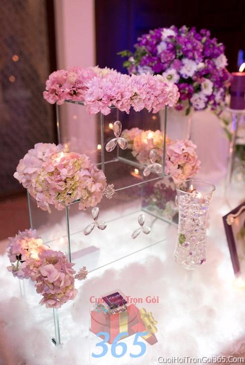 Phụ kiện trang trí đám cưới, không gian tiệc nhà hàng sang trọng ấn tượng PKC31 : Mẫu cưới hỏi trọn gói 365 của công ty dịch vụ trang trí nhà tiệc cưới hỏi đẹp rẻ uy tín ở tại quận Tân Phú Sài Gòn TPHCM Gò Vấp
