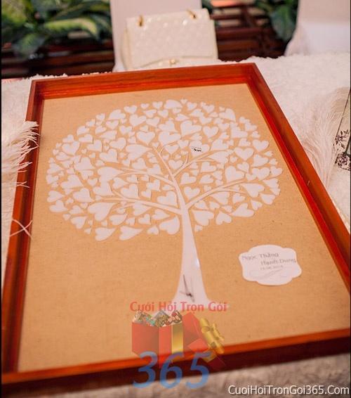Phụ kiện tranh vân tay trang trí đám cưới, không gian tiệc nhà hàng sang trọng ấn tượng PKC34 : Mẫu cưới hỏi trọn gói 365 của công ty dịch vụ trang trí nhà tiệc cưới hỏi đẹp rẻ uy tín ở tại quận Tân Phú Sài Gòn TPHCM Gò Vấp