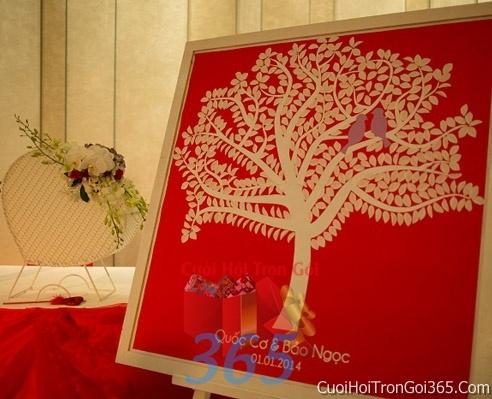 Phụ kiện tranh vân tay trang trí đám cưới, không gian tiệc nhà hàng sang trọng ấn tượng PKC35 : Mẫu cưới hỏi trọn gói 365 của công ty dịch vụ trang trí nhà tiệc cưới hỏi đẹp rẻ uy tín ở tại quận Tân Phú Sài Gòn TPHCM Gò Vấp