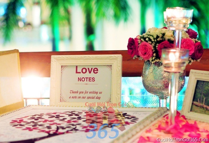 Phụ kiện tranh vân tay trang trí đám cưới, không gian tiệc nhà hàng sang trọng ấn tượng PKC37 : Mẫu cưới hỏi trọn gói 365 của công ty dịch vụ trang trí nhà tiệc cưới hỏi đẹp rẻ uy tín ở tại quận Tân Phú Sài Gòn TPHCM Gò Vấp