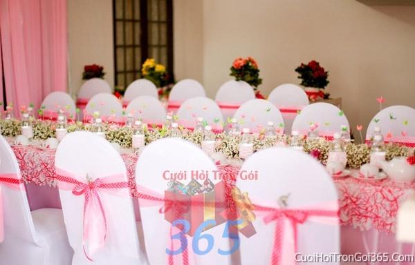 Trang trí nhà cưới hỏi tông màu hồng sen pastel cho ngày lễ đính hôn, ăn hỏi gia tiên, đám cưới TTNCH28 : Mẫu cưới hỏi trọn gói 365 của công ty dịch vụ trang trí nhà tiệc cưới hỏi đẹp rẻ uy tín ở tại quận Tân Phú Sài Gòn TPHCM Gò Vấp
