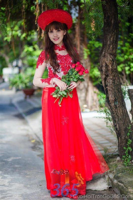 Cho thuê áo dài cưới cô dâu và đồng phục phụ dâu  DP76 : Mẫu cưới hỏi trọn gói 365 của công ty dịch vụ trang trí nhà tiệc cưới hỏi đẹp rẻ uy tín ở tại quận Tân Phú Sài Gòn TPHCM Gò Vấp