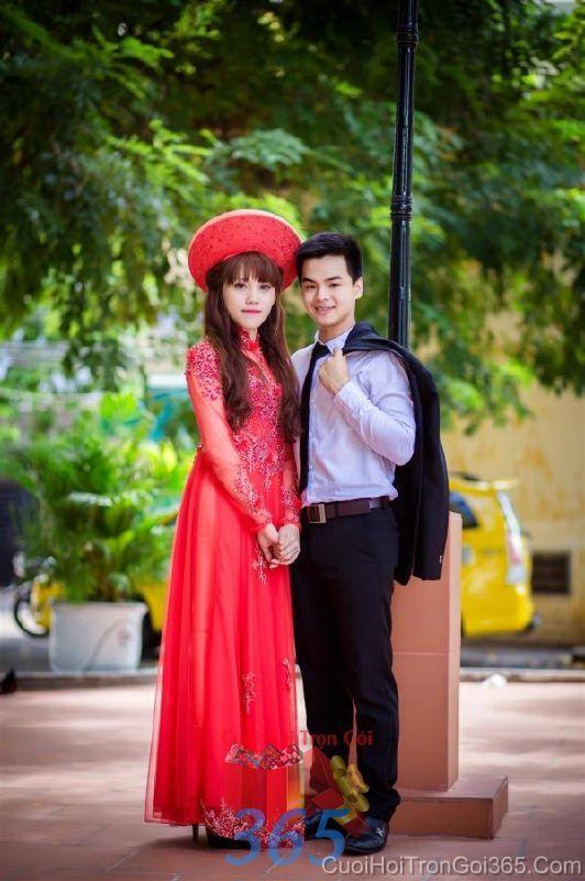 Cho thuê áo dài cưới cô dâu và đồng phục phụ dâu  DP80 : Mẫu cưới hỏi trọn gói 365 của công ty dịch vụ trang trí nhà tiệc cưới hỏi đẹp rẻ uy tín ở tại quận Tân Phú Sài Gòn TPHCM Gò Vấp