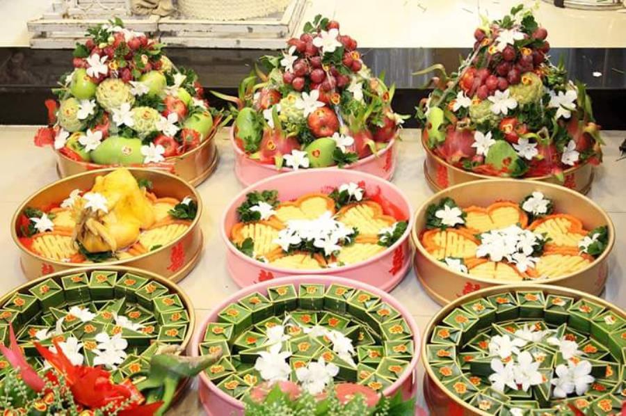 dịch vụ cưới hỏi trọn gói - Dịch vụ mâm quả ngày cưới trọn gói cung cấp khắp các quận MQ61