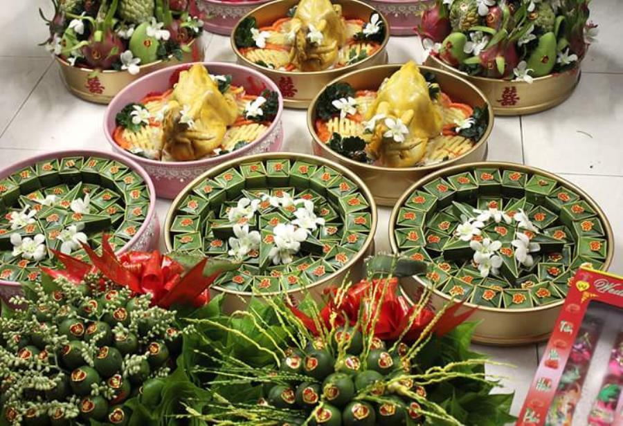 Dịch vụ mâm quả ngày cưới trọn gói cung cấp khắp các quận MQ57 : Mẫu cưới hỏi trọn gói 365 của công ty dịch vụ trang trí nhà tiệc cưới hỏi đẹp rẻ uy tín ở tại quận Tân Phú Sài Gòn TPHCM Gò Vấp