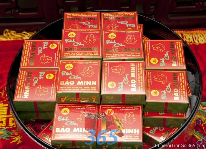 dịch vụ cưới hỏi trọn gói - Mâm quả cưới hỏi bánh cốm trọn gói cho nghi lễ gia tiên ăn hỏi ngày đám  MQ19