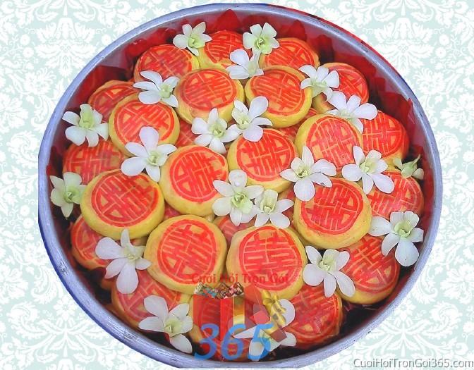 Mâm quả cưới hỏi bánh pía trọn gói cho nghi lễ gia tiên ăn hỏi ngày đám  MQ24 : Mẫu cưới hỏi trọn gói 365 của công ty dịch vụ trang trí nhà tiệc cưới hỏi đẹp rẻ uy tín ở tại quận Tân Phú Sài Gòn TPHCM Gò Vấp