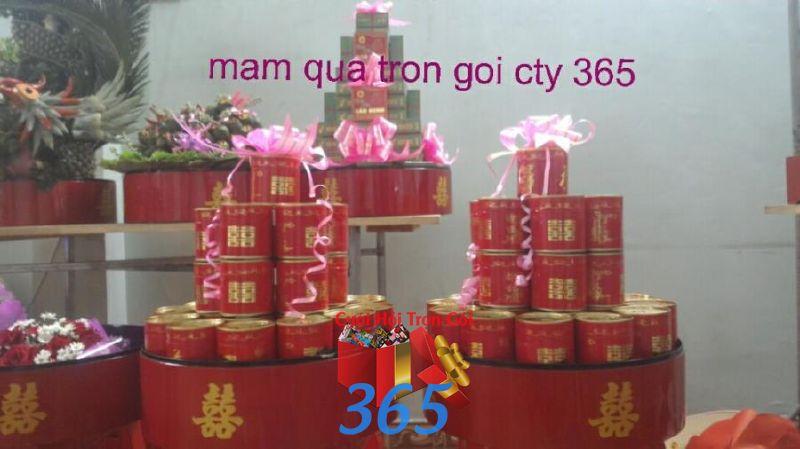 Mâm quả sơn mài trà rượu ngày  MQ49 : Mẫu cưới hỏi trọn gói 365 của công ty dịch vụ trang trí nhà tiệc cưới hỏi đẹp rẻ uy tín ở tại quận Tân Phú Sài Gòn TPHCM Gò Vấp