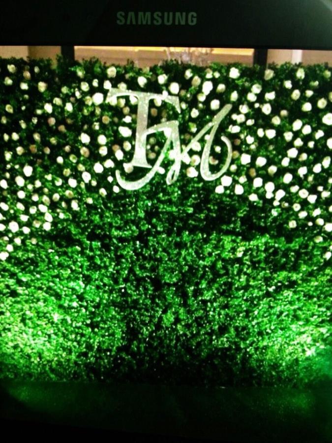 Phông cưới, backdrop chụp ảnh tông xanh lá nổi bật với chữ TM cùng hoa hồng trắng kết hợp BDNH89 : Mẫu cưới hỏi trọn gói 365 của công ty dịch vụ trang trí nhà tiệc cưới hỏi đẹp rẻ uy tín ở tại quận Tân Phú Sài Gòn TPHCM Gò Vấp