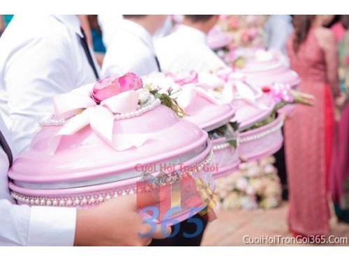Mâm quả cao cấp pha lê, sơn mài cho đám cưới cao cấp MQCC05 : Mẫu cưới hỏi trọn gói 365 của công ty dịch vụ trang trí nhà tiệc cưới hỏi đẹp rẻ uy tín ở tại quận Tân Phú Sài Gòn TPHCM Gò Vấp